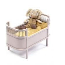 Łóżeczko dla lalek pudrowe, SmallStuff