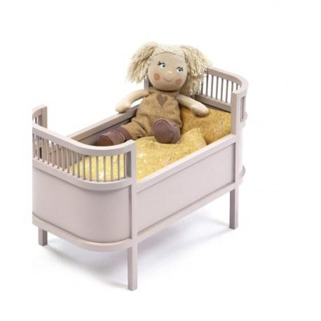 Łożeczko dla lalek pudrowe, SmallStuff