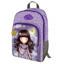 Plecak szkolny z 3 kieszeniami - Gorjuss Sparkle & Bloom - Catch A Falling Star, Santoro
