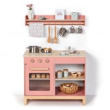 Drewniana kuchnia Magnolia różowa, MUSTERKIND®