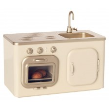 Metalowa Mini kuchenka kremowa FW2020, Maileg