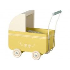 Wózeczek dla króliczków MICRO żółty, Maileg