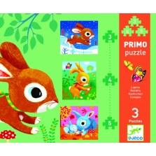 Pierwsze Puzzle Pieski, DJECO