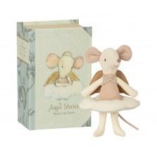 Myszka Aniołek starsza siostra w książeczce SS2021, Maileg