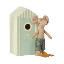 Myszka starszy brat w domku plażowym SS2021, Maileg
