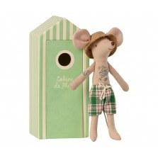 Myszka tata w domku plażowym SS2021, Maileg