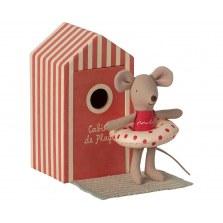 Myszka młodsza siostrzyczka w domku plażowym SS2021, Maileg
