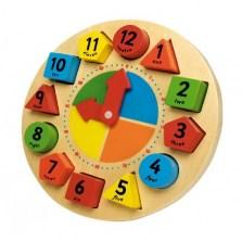 Drewniany zegar edukacyjny, Tidlo