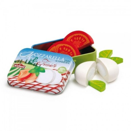 Mozzarella i pomidor w puszce, Erzi