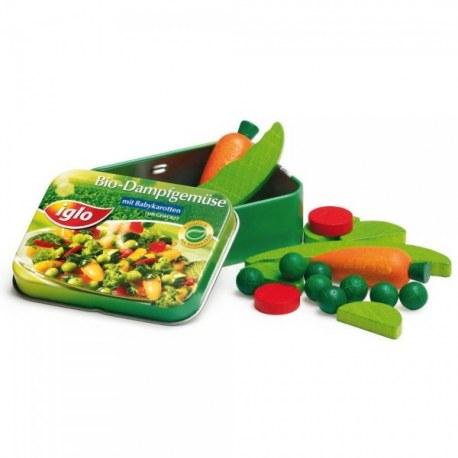 Mrożone warzywa z Igo w puszce , Erzi