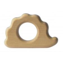 Naturalny drewniany gryzaczek Jeż, Grunspecht