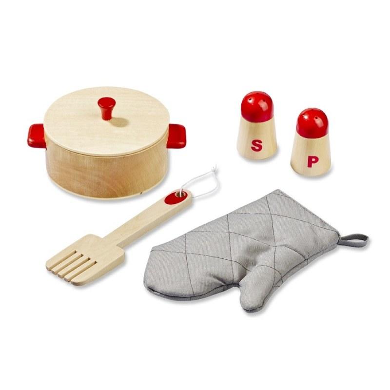 Drewniana kuchnia z akcesoriami, HOWA -> Drewniana Kuchnia Z Akcesoriami Howa