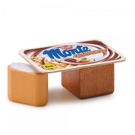 Monte mleczno-orzechowy deser, Erzi