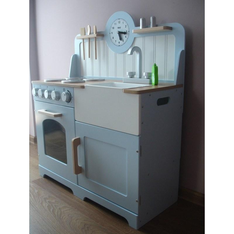 Drewniana kuchnia Country, Tidlo -> Ikea Kuchnia Dla Dzieci Drewniana