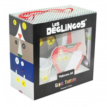 Zestaw naczynek BigBos, Les Deglingos