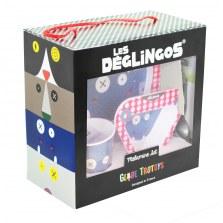 Zestaw naczynek HiPPIPos, Les Deglingos