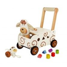 Drewniany pchacz i jeździk Owca, I'm TOY