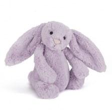 Króliczek Bashful Bunny hiacyntowy średni 31cm, Jellycat