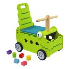 Drewniany Jeździk Pchacz Krokodyl, I'm Toy