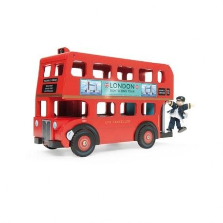 Pietrowy autobus z kierwocą, Le Toy Van