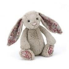 Króliczek Blossom Bashful Bunny beżowy 18cm, Jellycat