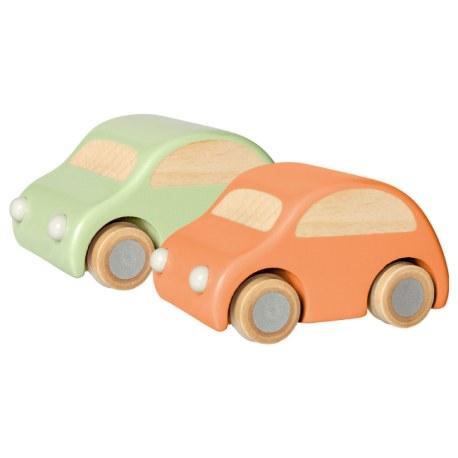 Drewniany samochodzik seledynowy, Maileg