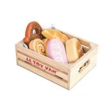 Pieczywo drewniany zestaw w skrzyneczce, Le Toy Van