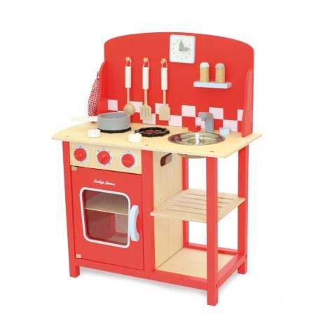 Drewniana kuchnia czerwona, Indigo Jamm