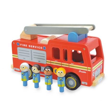 Drewniany wóz strażacki Freddiego, Indigo Jamm
