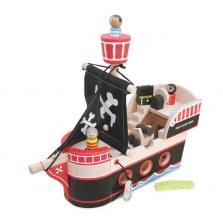 Drewniany statek piracki Jolliego Jacka, Indigo Jamm