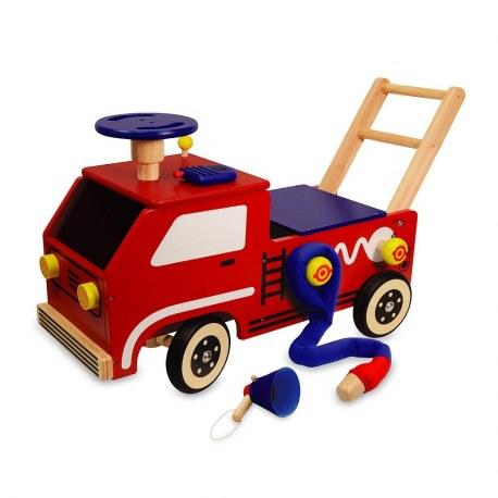 Jeździk Pchacz Pojazd strażaka, I'm Toy