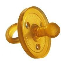 Ekologiczny kauczukowy smoczek uspokajacz - tradycyjny 4-11mcy, Goldi