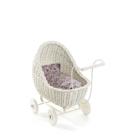 Wózek dla lalek biały, SmallStuff