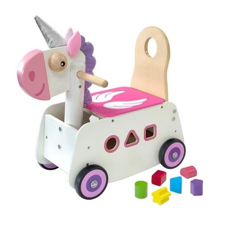 Drewniany Jeździk pchacz Jednorożec, I'm Toy