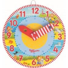Drewniany zegar edukacyjny  Peggy Diggledey, Goki