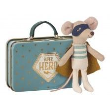 Myszka Super Hero w walizce SS2019, Maileg