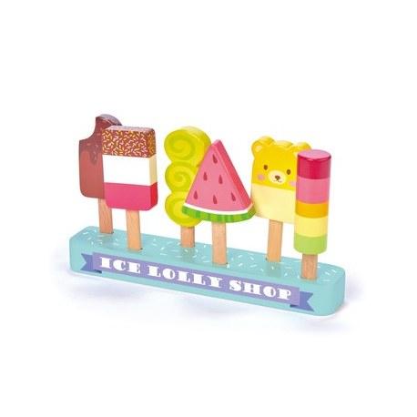 Drewniane lody na patyku, Tender Leaf Toys