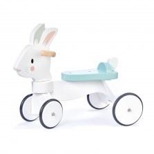 Drewniany jeździk króliczek, Tender Leaf Toys