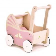 Drewniany wózek dla lalek, Tender Leaf Toys