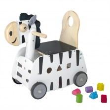 Drewniany Jeździk pchacz Zebra, I'm Toy