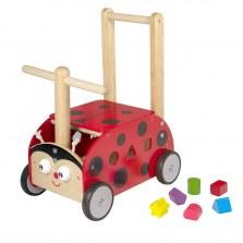 Drewniany Jeździk pchacz Biedronka, I'm Toy