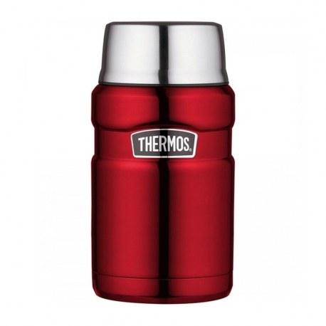 Pojemnik termiczny na pożywienie czerwony 0,71l, Thermos