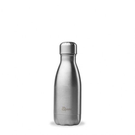 Bidon termiczny butelka termiczna 0,26l, stalowa, Qwetch