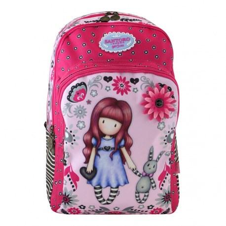 Duży plecak szkolny - Gorjuss Fiesta My Gift to You, Santoro
