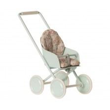 Wózeczek błękitny dla króliczków MICRO, Maileg