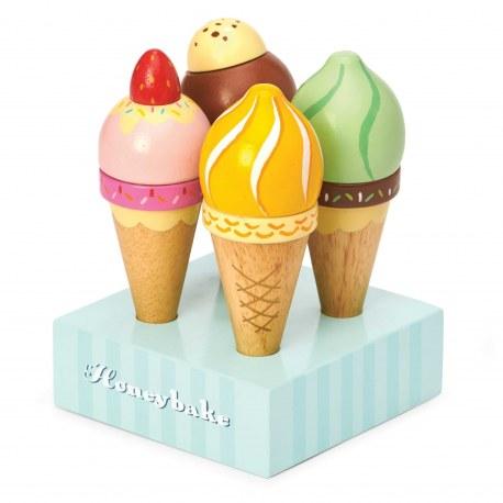 Drewniane lody w rożkach, Le Toy Van