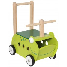 Drewniany Jeździk pchacz Żabka, I'm Toy