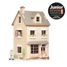 Drewniany domek dla lalek z mebelkami willa Foxtail, Tender Leaf Toys