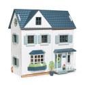 Drewniany domek dla lalek Dovetail, Tender Leaf Toys