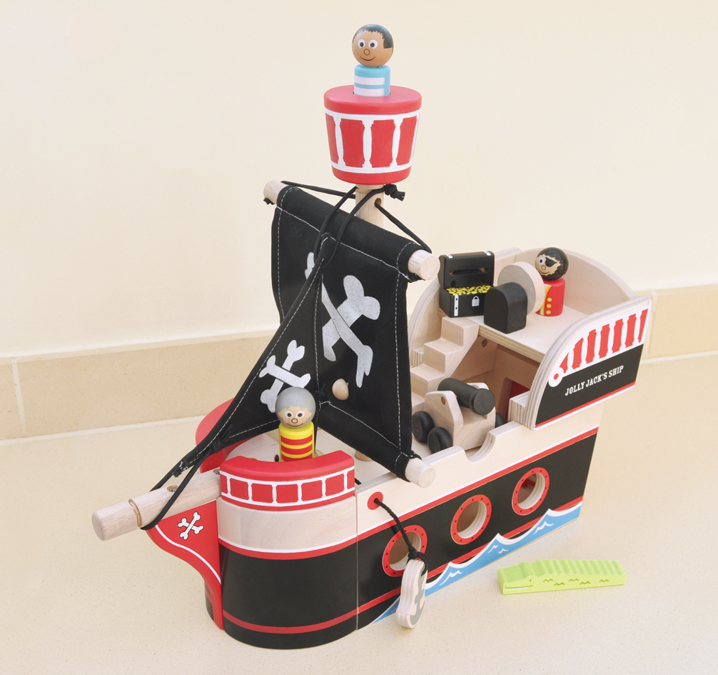 drewniany statek